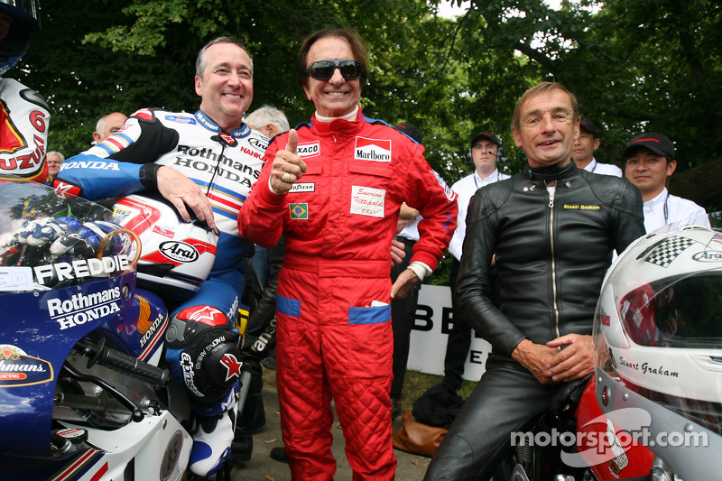 Freddie Spencer, Emerson Fittipaldi ve Stuart Graham