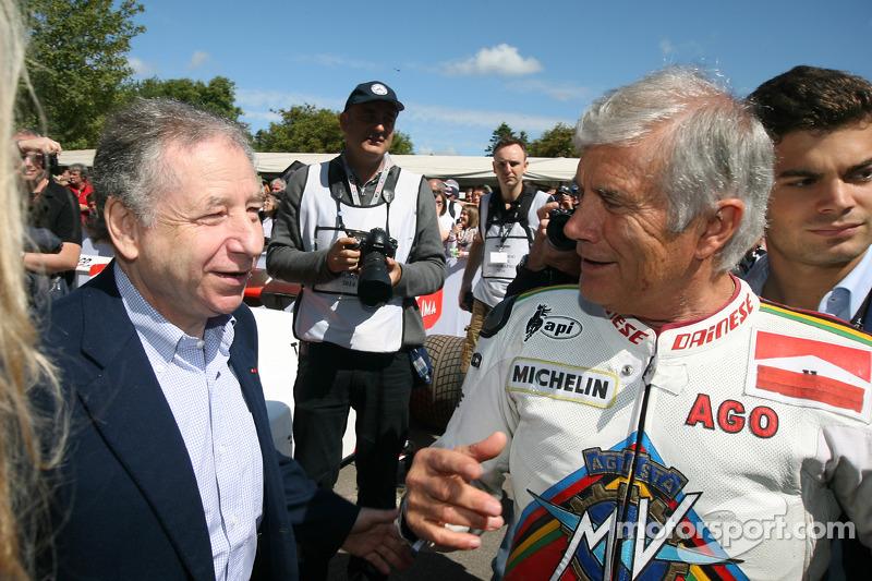 Jean Todt e Giacomo Agostini