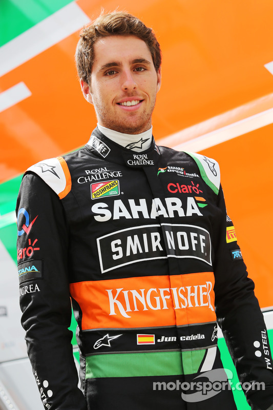 Daniel Juncadella, piloto reserva da Sahara Force India F1 Team