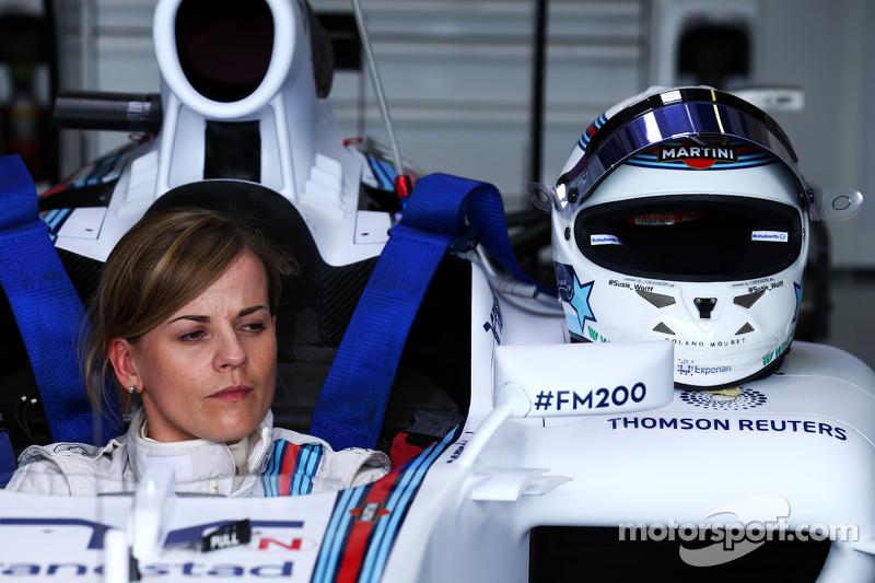 Susie Wolff, pilota collaudatrice Williams FW36