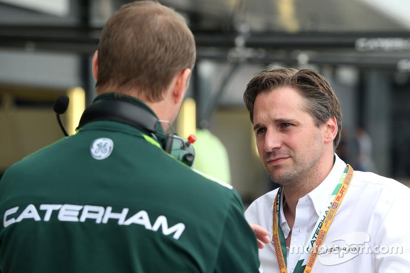 Christijan Albers, Teammanager, Caterham F1 Team