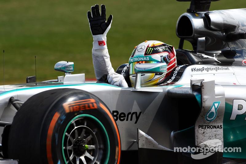 2014 Britanya GP: Lewis Hamilton, Mercedes AMG F1 W05