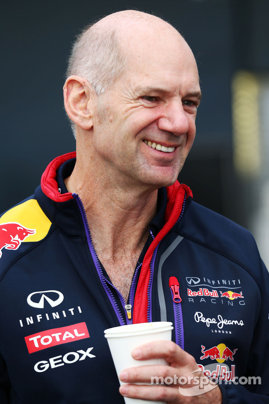 Adrian Newey, Technischer Direktor, Red Bull Racing