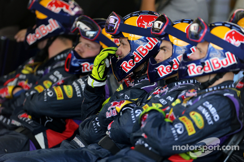 Boxenstopp: Mechaniker, Red Bull Racing