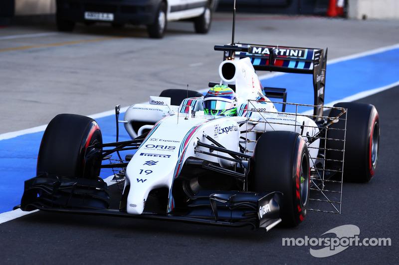 Felipe Massa, Williams FW36 sensörlerle birlikte pistte