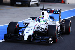 Felipe Massa, Williams FW36 com sensor