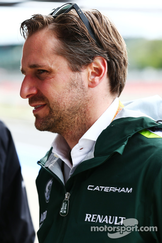 Christian Albers, gerente da Caterham F1 Team