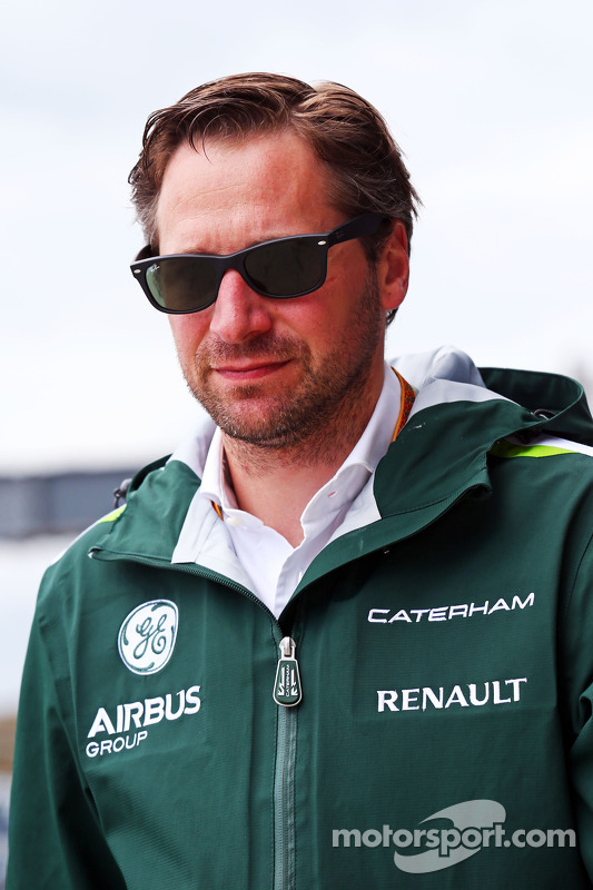 Christian Albers, Caterham F1 Team, Teammanager