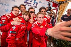 Nicolas Prost, Nick Heidfeld, Mathias Beche, Dominik Kraihamer, Andrea Belicchi, Fabio Leimer