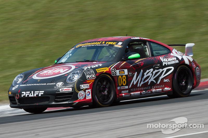 #08 Rebel Rock/MBPR Racing Porsche 997: Martin Barkey, Kyle Marcelli