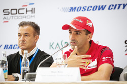 Jean Alesi and Marc Gene