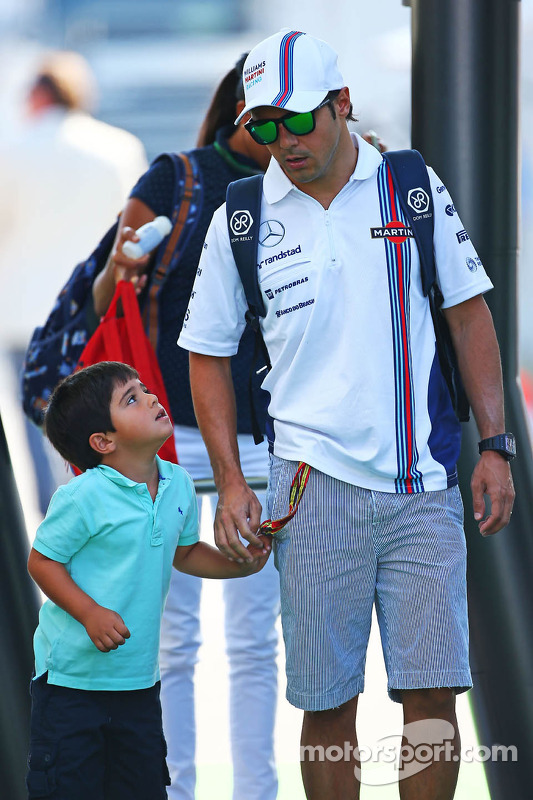 Felipe Massa, Williams com Felipinho Massa