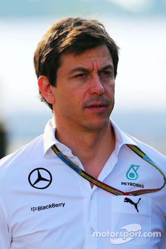 Toto Wolff, Mercedes, Motorsportchef