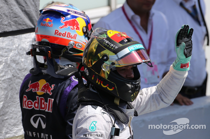 Pole para Nico Rosberg, Mercedes AMG F2