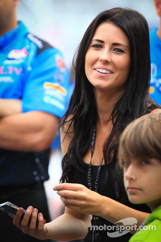Kirsten Dee, namorada de James Hinchcliffe, Andretti Autosport Honda