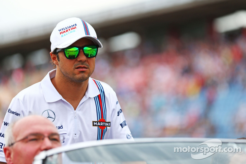 Felipe Massa, Williams pilot geçiş töreninde