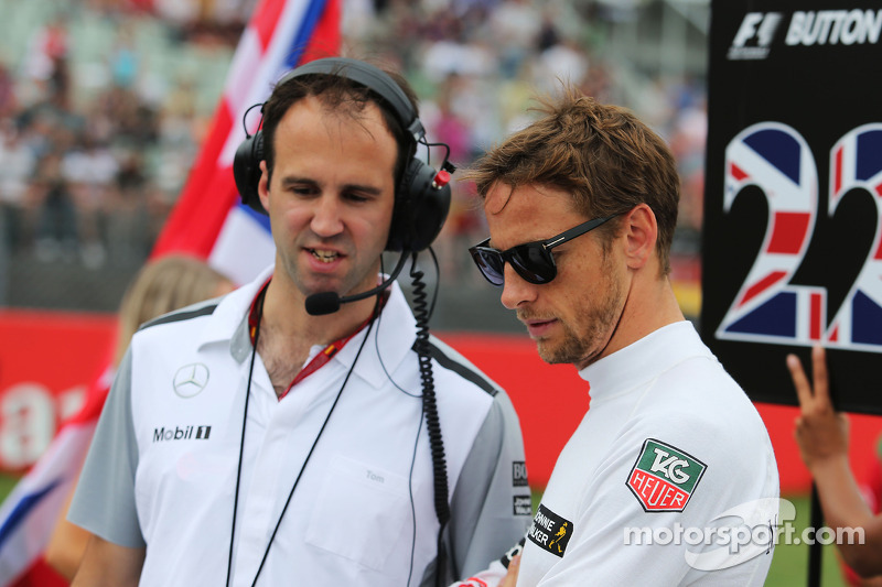 Tom Stallard (Jenson Button)