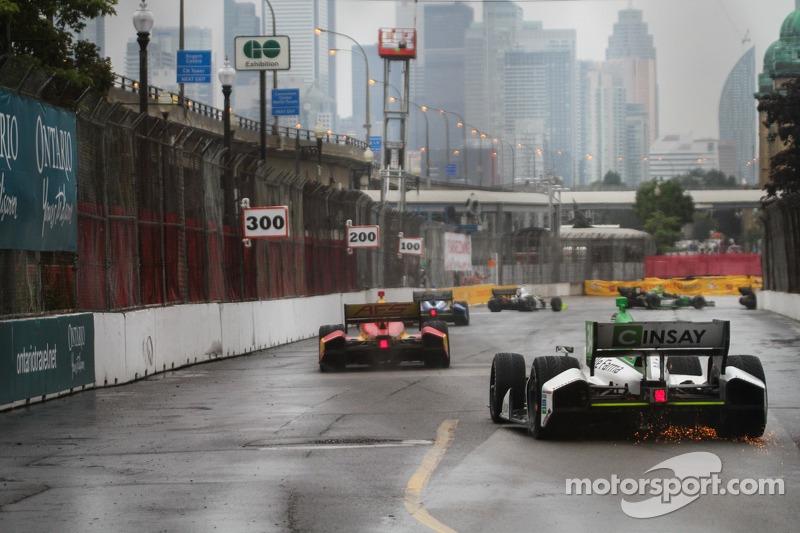Carlos Munoz, Andretti Autosport Honda dibe vuruyor