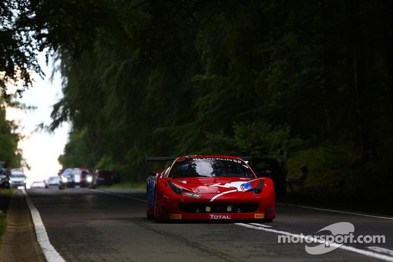 #52 AF Corse 法拉利 458 Italia: 斯蒂夫·怀亚特, 米歇尔·鲁格罗, 克里格·朗兹, 安德里亚·皮奇尼