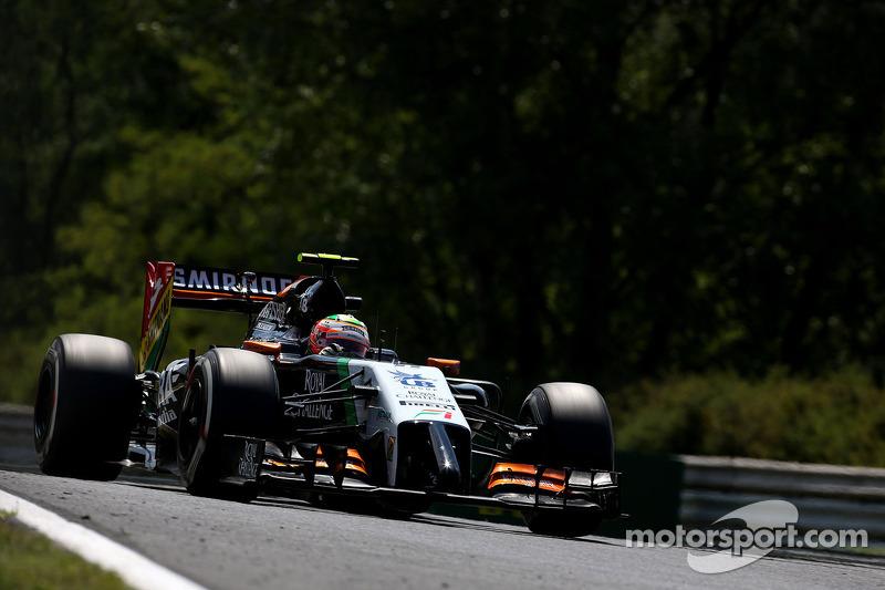 Sergio Perez , Sahara Force India