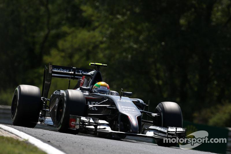 Esteban Gutierrez , Sauber F1 Team
