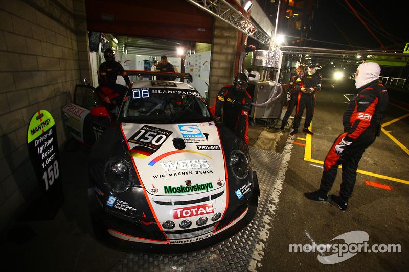 #150 Wochenspiegel Team Manthey Porsche 997 GT3 R: Georg Weiss, Oliver Kainz, Jochen Krumbach, Chris