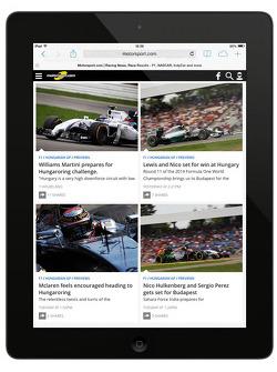 Vorschau auf die fünfte Generation der Motorsport.com Webseite
