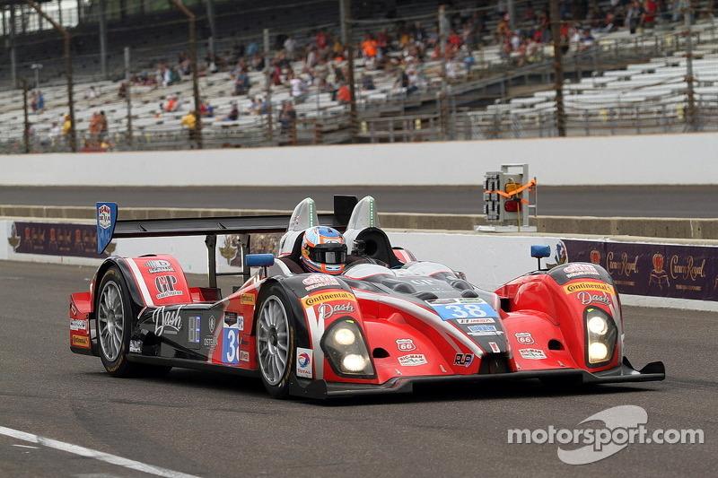 #38 Performance Tech Motorsports ORECA FLM09 Chevrolet: David Ostella, James French