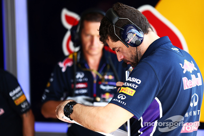 Guillaume Rocquelin, Red Bull Racing, ingegnere di pista