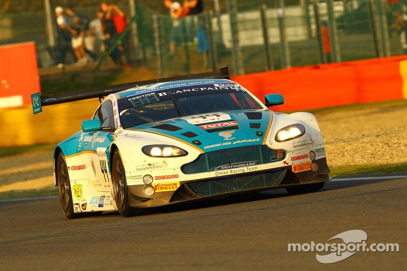 #44 Oman Racing Team 阿斯顿马丁 Vantage GT3: Michael Caine, Stephen Jelley, Ahmad Al Harthy