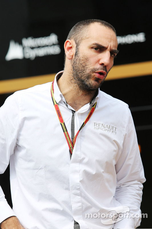 Cyril Abiteboul, diretor da Renault Sport F1 .