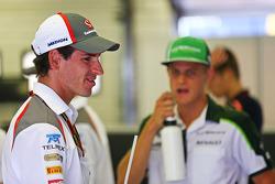 Fahrerparade: Adrian Sutil, Sauber