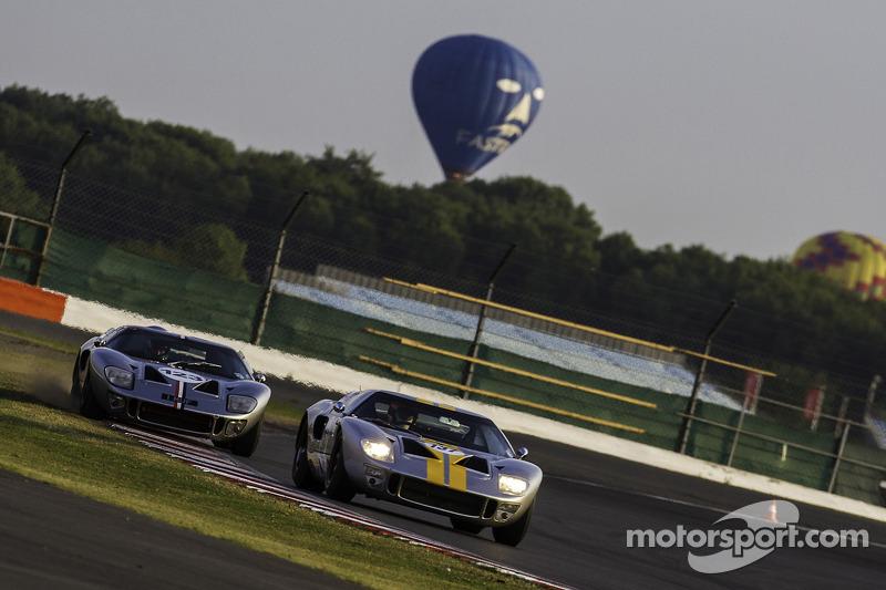 #137 福特 GT40: 菲利普·沃克, 迈克·乔丹, #123 福特 GT40: 詹姆斯·科廷厄姆