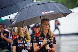EFFORT Racing Promotion Girl