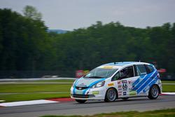 #66 Shea Racing Honda Fit: P J Groenke
