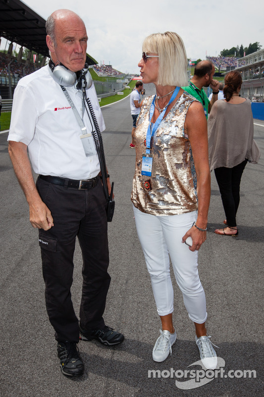 Dr. Wolfgang Ullrich with his wife