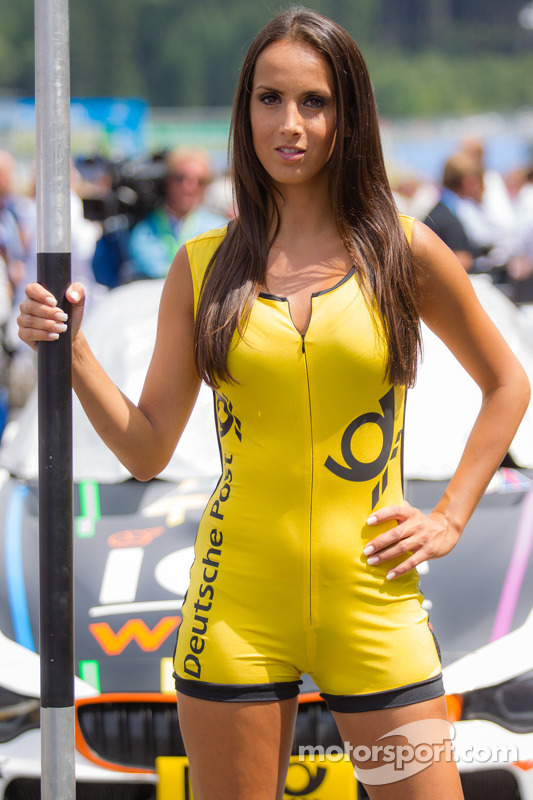 A charming grid girl at Spielberg
