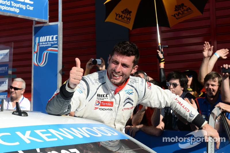 Vincitore Jose Maria Lopez, Citroen C-Elysée WTCC, Citroen Total WTCC