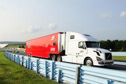 Phil Parson Racing hauler