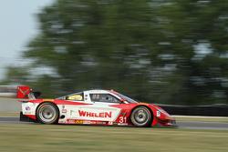 #31 Marsh Racing Corvette DP: Eric Curran, Burt Frisselle
