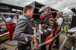 Jos Verstappen met Max Verstappen, Van Amersfoort Racing Dallara F312 Volkswagen