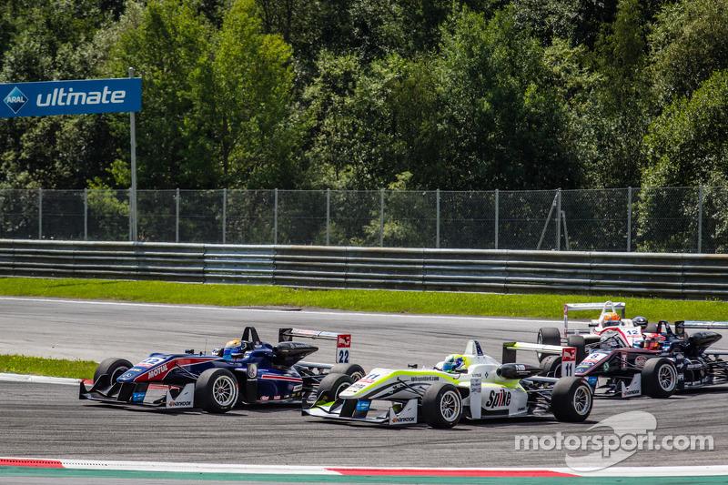 Hector Hurst, Team West-TecF3 Dallara F312 Mercedes, Richard Goddard, ThreeBond ve T-Sport Dallara F