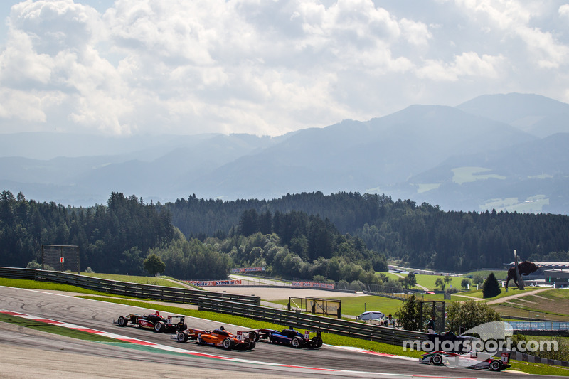 Esteban Ocon, Prema Powerteam Dallara F312 Mercedes, Roy Nissany, kfzteile24 Mücke Motorsport Dallar