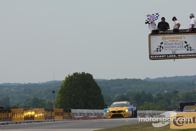 #94 Turner Motorsport BMW Z4: Dane Cameron, Markus Palttala takes the class win