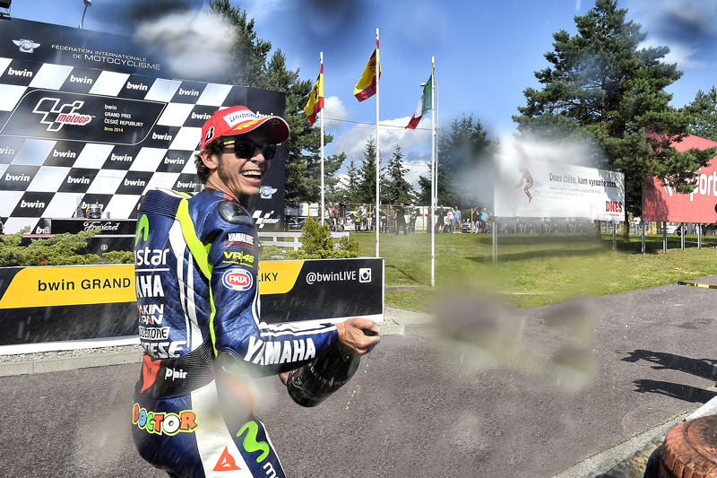 Terzo posto Valentino Rossi, Yamaha Factory Racing