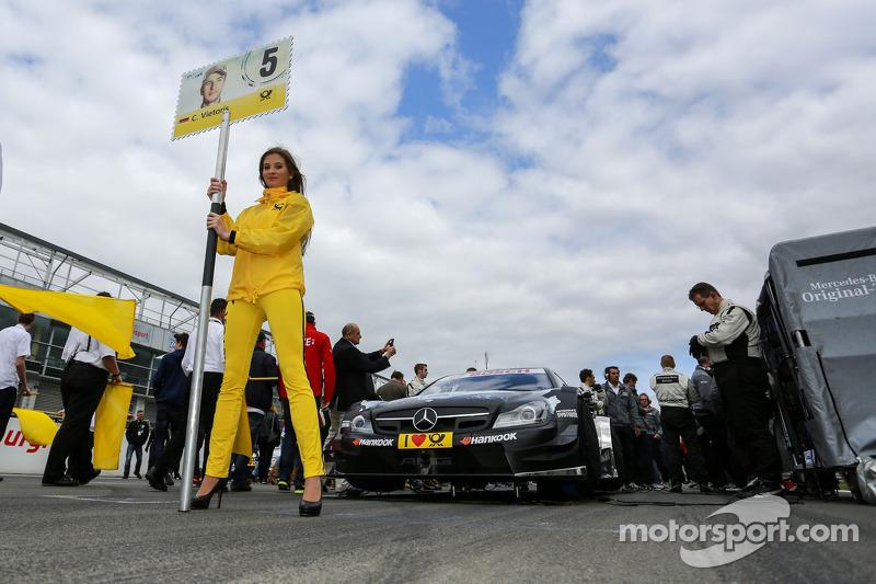 Grid kızı: Christian Vietoris, Mercedes AMG DTM-Takımı HWA DTM Mercedes AMG C-Coupe