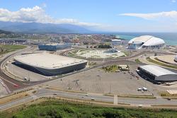 Sochi Autodrom circuit detail