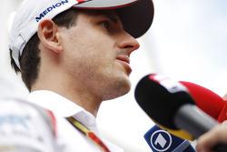Adrian Sutil, Sauber, mit der Presse