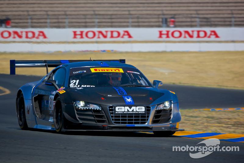 #21 Global Motorsports Group Audi R8: Andrew Palmer