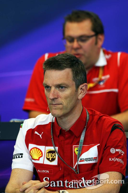 James Allison, Ferrari Chassis